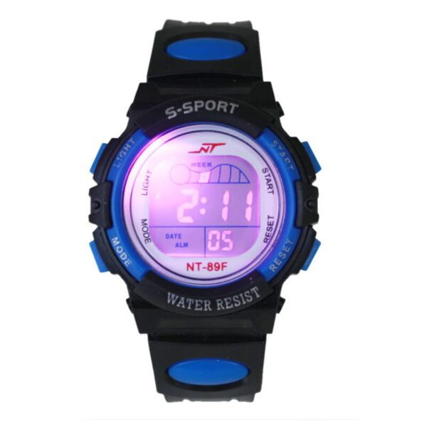 Girl Boy Sports Children Electronic Watch LED Light Wrist Watch Alarm Date Digital Multifunction Sports детские часы relogio 50*