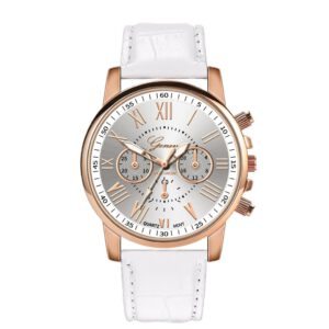 2020 New Fashion Women Leather Band Quartz Analog Wrist Watch Reloj Mujer Luxury Women Watches Bracelet Relojes Para Mujer