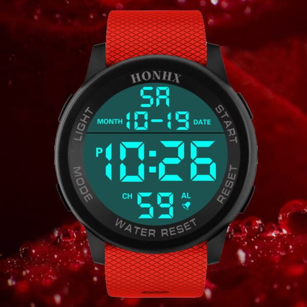 Luxury Men Digital Watch Waterproof Analog Silicone Strap Military Sport Watches LED Wrist Watch reloj inteligente mujer 2020