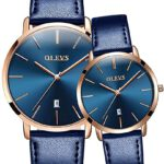 Fashion-Couple-Watches-OLEVS-Popular-Casual-Quartz-Women-Men-Watch-Lover's-Gift-Clock-Boys-Girls-Ultra-thin-Leather-Wristwatch