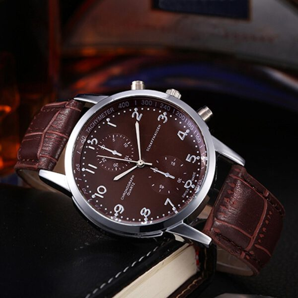 New Unisex Leather Couple Watch Stainless Steel Dial Quartz Wrist Watch Men's Ladies Wrist Watches Valentine Love Birthday Gift