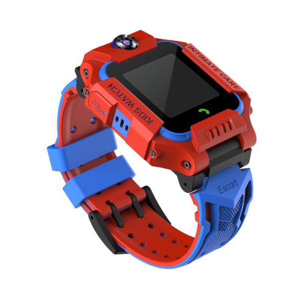 Children Smart Watch with GPS GSM Locator Touch Screen Tracker Reversible Dual Camera Voice Chat Birthday Gifts for Kid Children