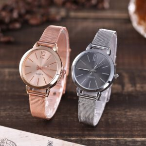 Vansvar Brand Women Watch Casual Quartz Stainless Steel Band Marble Strap Watch Analog Woman Wristwatch montres femme 2019 #N03