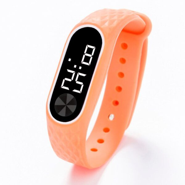2019 LED Digital Display Bracelet Watch Children's Students Silica Gel Sport Watch Boys & Girls Watch Relogio Feminino Masculino