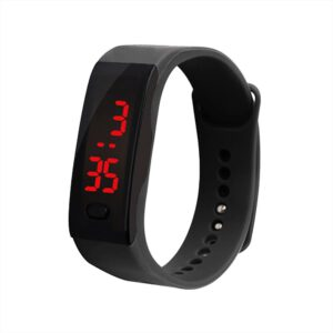 Children Watch LED Digital Display Bracelet Boy Watch Children's Students Silica Gel Sports Watch reloj Select Gift for kid A