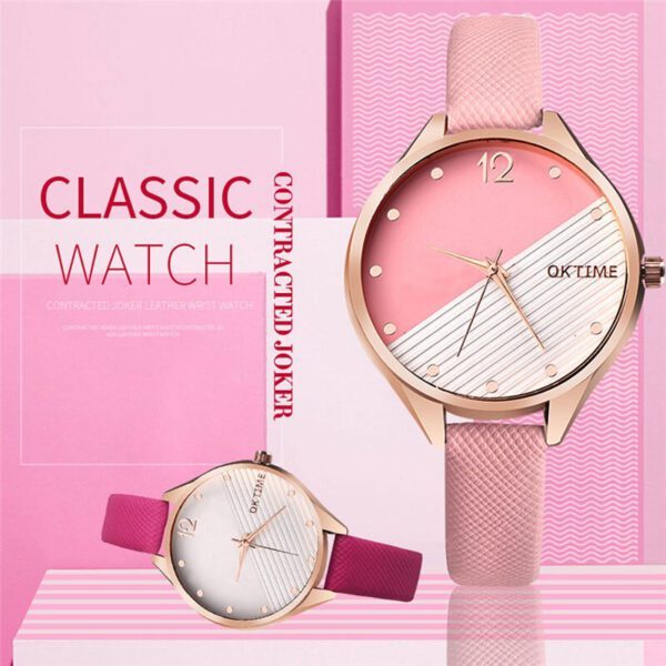 Ultra Thin Belt Band Women's Women Watches Luxury Casual Quartz Watch