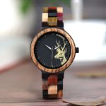 BOBO-BIRD-Lovers'-Casual-Quartz-Watches-Elk-Design-Natural-Wooden-Watch-for-Men-Women-with-Mixed-Colorful-Wood-Band-in-Gift-Box