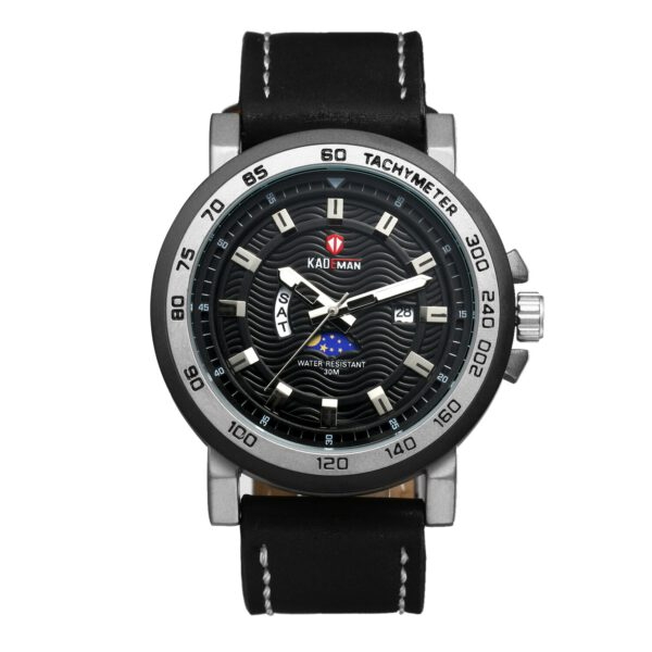 LANCARDO Men Business Casual Top Brand Luxury Watches Relogio Masculino Charming Sport Leather Strap Cool Jewelry For Man