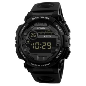 Honhx Luxury Mens Digital LED Watch Date Sport Men Outdoor Electronic Watches Wristwatches Reloj Hombre Relogio Masculino