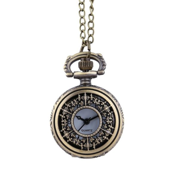 Men Watches Classic Large Two-Faced Gold Fashion Pocket Watch Court Style Pocket Watch man woman necklace clock Jewelry gift f3