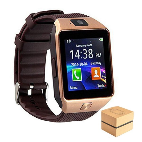Smart Watch Phone Camera SIM call watch Android ios Compatible Watch Support TF card DZ09 For Dropshipping and wholesale