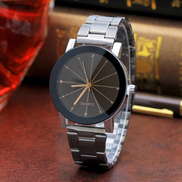 2019 Luxury Hot Brand Unique Arabic Numbers Lover's Couple Watch Women Stainless Steel Quartz Wristwatches montre couple pareja