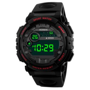 Luxury Watch Men Digital LED Watch Sport Men Outdoor Date Electronic Watches Waterproof Watch Clock Male Erkek Kol Saati