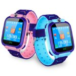 Waterproof Watch Children Smart Anti-lost Kid Wristwatch With Positioning and SOS Function For Android and IOS