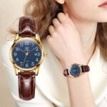 OLEVS-Womens-Watches-Top-Brand-Fashion-casual-Luxury-Dress-Genuine-Brown-Leather-Waterproof-Wristwatch-for-Lady-5566