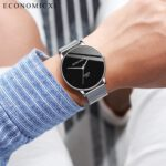 Men-Watches-Fashion-Business-Watch-Stainless-Steel-Mesh-Strap-Wild-Men's-Quartz-Watch-Casual-Wrist-Watches-Clock-reloj-hombre