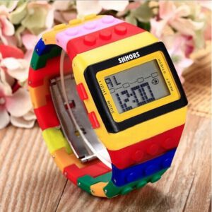 Colorful Digital Wrist Watch relojes hombre 2020 mens watch orologio donna zegarki damskie relogios masculino bayan saat Q