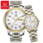 OLEVS-Lovers-Watches-Luxury-Quartz-Wrist-Watch-for-Men-and-Women–Calender-Week-Steel-Saat-Reloj-Mujer-Hombre-Couple-Watch
